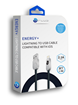 Energy+ Black 5ft iPhone USB Cable