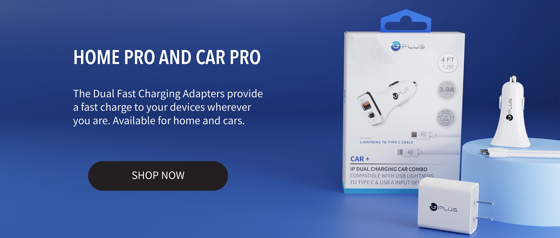 Home Pro and Car Pro Dual Chargers